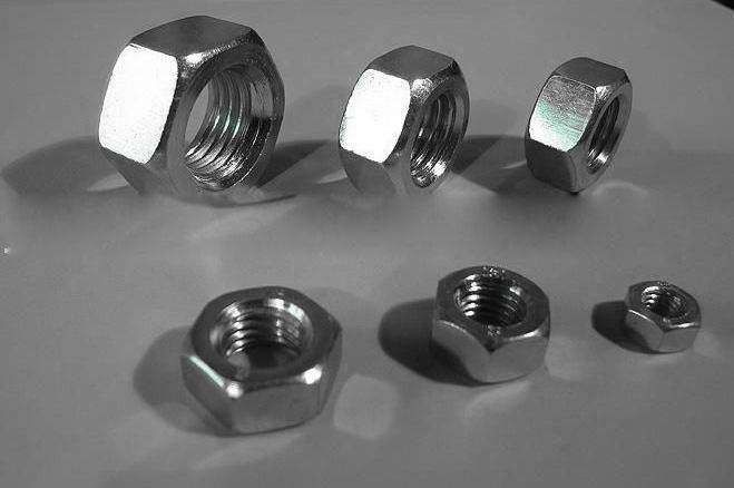 Hot Galvanizing Surface M5 Galvanized Hex Nut SS Material For Home Decorating